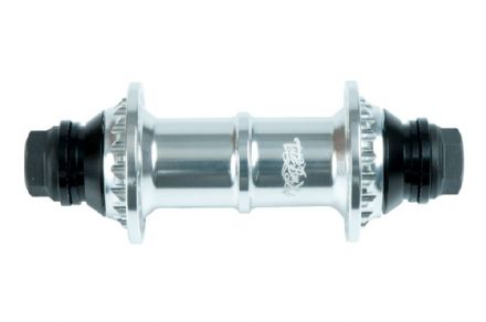 "Total BMX Tech 2 Front Hub - Silver 10mm (3/8"")"